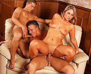 Femdom party movies